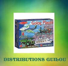 GOING PLACES FLOOR PUZZLES (SET OF 4)...61626