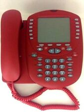 Avaya 4621SW IP VoIP RED Business Phone WARRANTY EMERGENCY RED