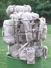 New Upgraded US Army Desert Molle Ruck Sack Back Pack Pouches Hydration System