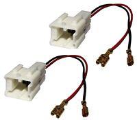 2 connecteurs adaptateurs paire de haut-parleurs enceintes auto pour Dacia Lodgy