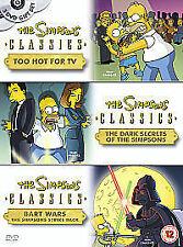 The Simpsons - Too Hot For TV / Dark Secrets / Bart Wars R.2 DVD 2005 3-Disc Set