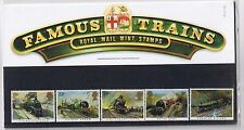 GB Presentation Pack 159 1985 Famous Trains 10% OFF 5