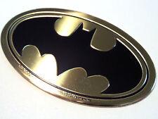 Metal Sticker Batman dark knight Gold car auto cell i phone emblem Large