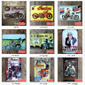 Sexy Girl Metal Tin Signs Motorcycle Plaque Art Wall Poster Iron Garage Decor