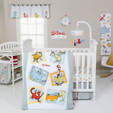 Trend Lab Dr. Seuss Friends Baby Nursery Crib Bedding CHOOSE FROM 5 6 7 PC Set