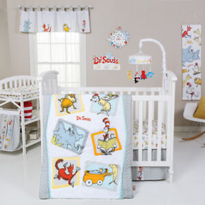 Trend Lab Dr. Seuss Friends Baby Nursery Crib Bedding CHOOSE FROM 5 6 7 PC Set
