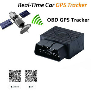 Car GPS Realtime Tracker OBD II OBD2 Tracking Device GSM GPRS For Android IOS