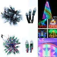 Wholesale Addressable WS2811 Round LED Pixel Diffused 12mm RGB Light P68 12V DC
