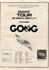 Gong You Isotope Portsmouth Polytechnic MM4 LP/Tour Advert 1974