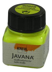 UV Fabric Paint 20ml - Yellow