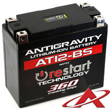 NEW Antigravity RE-START AT12-BS Stock Case 12 Cell Lithium Ion Battery 360 CCA