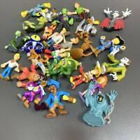 Random 10x Scooby-Doo Crew Set Mystery Mates Monster Pirate Villians Figure Toys