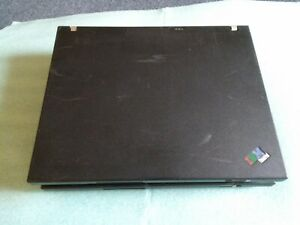 As Is ) Lot of 2 IBM ThinkPad R60 - No HDD, No OS, No battery, No power adapter