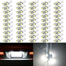 50X LED 5 SMD W5W Auto Lampe Standlicht Birne Leselampe CANBUS T10 XENON WEIß^