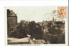 CPA-Carte postale-Luxembourg - Plateau de Rham et Ville Haute-1923 -  S1354