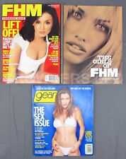 FHM 1st March/April 2000 Gear July/August 1999 Carrie Otis Rachael Leigh Cook VG