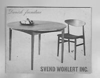 scarce Danish furniture Svend Wohlert Hans Wegner Paul Volther  Bender Madsen