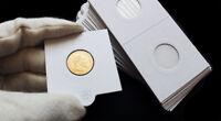 25 étuis carton autocollants protection et rangement pour pièces de 10 francs or