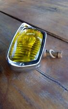 Vintage rare oem chrome yellow Bosch lamp fog light
