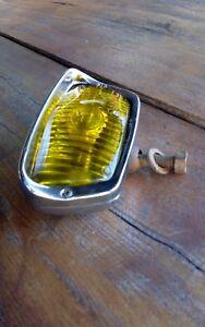 Vintage rare oem chrome yellow Bosch lamp fog light