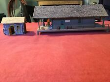HO Scale Alexander Model Freight Station with Shed