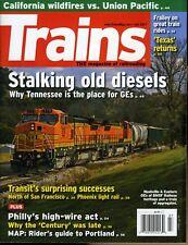 Trains Magazine July 2017 California wildfires vs. Union Pacific