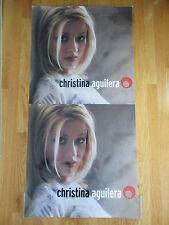 Christina Aguilera Promotional Laminated Plastic Window Poster