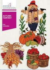 Autumn Harvest Anita Goodesign Embroidery Machine Design Cd New 27Aghd