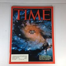 Time Magazine, When Did The Universe Begin? March 6, 1995, Near-Mint Condition