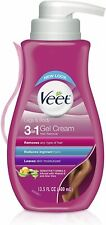 Veet Legs & Body 3 in 1 Hair Removal Gel Cream - 13.5oz