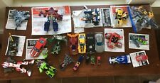 Transformers Large Lot Robots In Disguise, Energon, Optimus Prime, Bumblebee