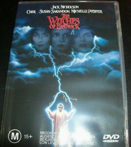 The Witches Of Eastwick (Jack Nicholson Cher) (Australia Region 4) DVD – Like Ne