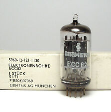 Siemens ECC82 / 12AU7 Audio Tube, Made by Telefunken, NOS & NIB