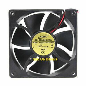 Original ADDA AG09212XS257000 9225 DC12V 0.42A 9CM 92x92x25mm 2-wire Power fan