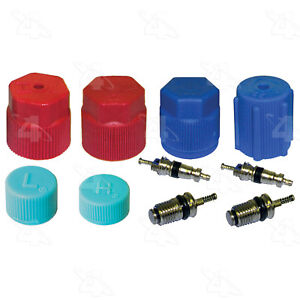 A/C System Valve Core and Cap Kit-Seal Kit Factory Air 26783-Schrader