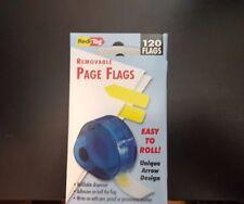 "Redi-Tag 71014  Plain Write-On Removable Tags – 120 x Yellow – 1 3/4"" x 9/16"""