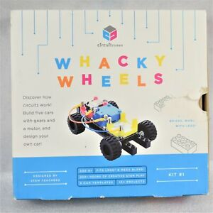 Circuit Cubes Wacky Wheels Kit #1 Preowned