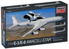Minicraft Boeing 707 E-3 AWACS / E-8 JOINT STAR versions plastic model kit 1/144