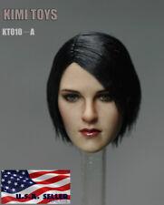 """1//6 Cheveux Court Femme HEAD SCULPT FOR 12/"""" TBLeague PHICEN Hot Toys figure ❶ USA ❶"""