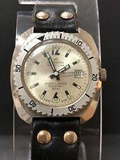 Vintage   Continental Tecnic Line DIVER HAND WIND   Rotating Bezel Watch R