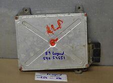 88-90 Acura Legend Engine Control Unit W/timer Rad Fan 37820PL2A62 Module 96 5I4