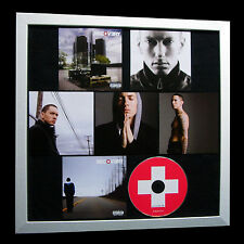 EMINEM+Recovery+LIMITED+GALLERY QUALITY FRAMED+EXPRESS GLOBAL SHIP+Not Signed
