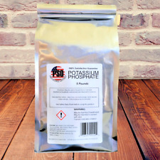 5LBS Mono Potassium Phosphate (MKP) 99% Pure Fertilizer, Buffering Agent
