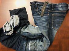 CULT OF INDIVIDUALITY Nakkai Skinny Fit Stretch Distressed Jeans Size W30 $379