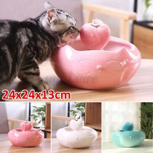 2.5L Pet Dog Cat Water Dispenser Fountain Feeder Automatic Ceramic Water