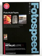 Fotospeed Metallic Lustre 275gsm Photo Paper. A3 - 25 Sheets. Pro Inkjet Media