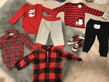Gymboree Carters Lot New Unisex 6-12 Months Shoes Pants Shirt