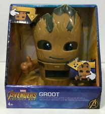 MARVEL Avengers Groot night light alarm clock with sound Bulb Botz