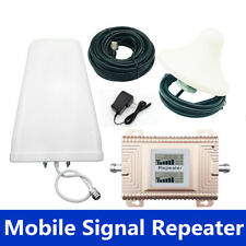 Dual Band Cellular Signal Repeater 2G 3G 4G Mobile Signal Booster CDMA GSM DCS