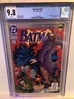 BATMAN 492 CGC 9.8 KNIGHTFALL #1 BANE (UNDER 100 IN EXISTINCE)